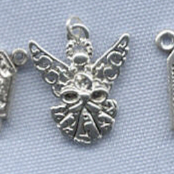 Angel Charm (Double Sided Filigree) ~ SP