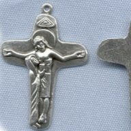 Our Lady, Mother Mary Crucifix ~SP~ 1 3/4 in.