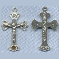 Relic Terra Catacumba Crucifix ~SP~ 1 3/4 in