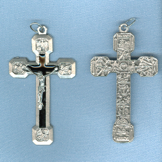 Via Crucis (Stations) Crucifix ~SP~ 2 1/2 in. (New Version)