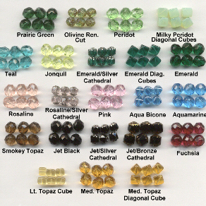 Custom Czech Glass Pater Choices