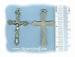 Fancy Ornate Crucifix ~SP~ 1 3/4 in