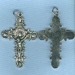 Rose Crucifix ~NI ~ 2 in.