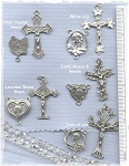 Custom Center & Crucifix Sets ~ Pewter