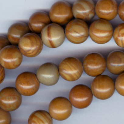 Custom Wood Jasper 6mm STONE Rosary