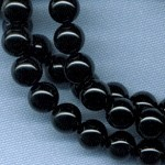 Custom Black Onyx 8mm Stone ROSARY