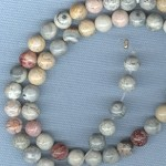 Custom Mexican Sky Eye Jasper 6mm Stone ROSARY