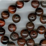 Custom Red Tiger Eye Stone ROSARY