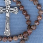 Custom Surreal Jasper 6mm Stone ROSARY