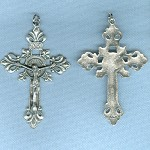 Fleur-de-Lis Large Ornate ~SP~ 2 1/4 in.
