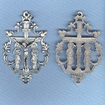 Filigree Mary Crucifix ~SP~ 2 in.