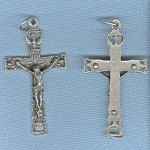 Holy Spirit Crucifix ~SP~ 1 1/2 in