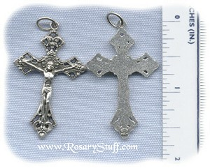 Ornate Crucifix (Medium) ~SP~ 1 5/8 in.