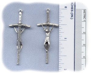 Papal Crucifix (Small) ~SP~ 1 3/4 in.