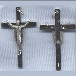 Risen Christ Crucifix ~SP~ 1 3/4 in