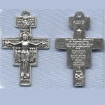 San Damiano Crucifix ~SP~ 1 5/8 in.