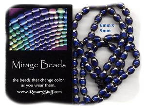 "Mirage ""Mood"" Color Changing Beads 6x9mm"