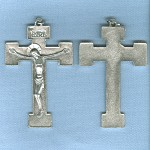 Basic Orthodox Crucifix ~SP~ 2 1/4 in.