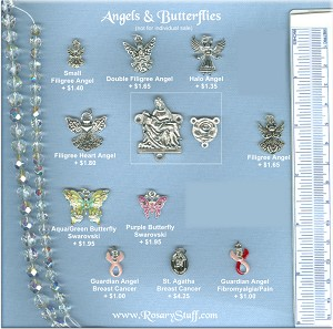 Angel & Butterfly Choices ~ Custom Rosaries