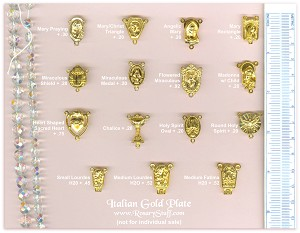 Custom Center Choices: Italian Gold Plate