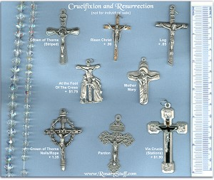 Custom Crucifix Choices: Crucifixion & Resurrection