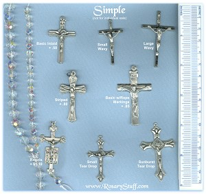Custom Crucifix Choices: Simple