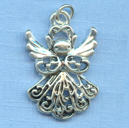 Angel Large Filigree Charm