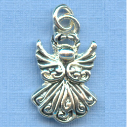 Angel Small Filigree Bracelet Charm