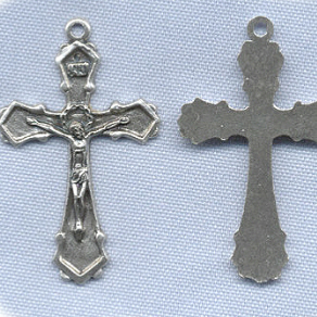 Traditional Angular Crucifix ~SP~ 1 3/4 in