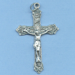Fancy Ornate Crucifix 1 7/8 in.