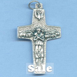 Pope Francis Offical Antonio Vedele Small Cross 1 1/2 in.