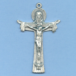 Holy Trinity Beefy Crucifix 2 1/8 in.