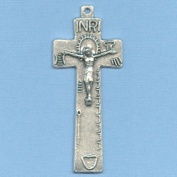 Irish Penal Crucifix 2 1/8 in.