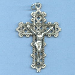 Latticework Crucifix 1 1/2 in.