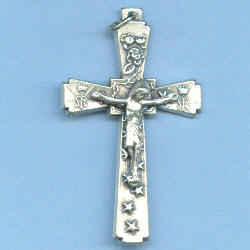 Miraculous Crucifix 1 3/4 in.