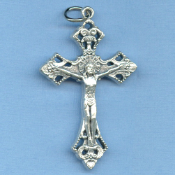 Ornate Medium Crucifix 1 11/16 in.