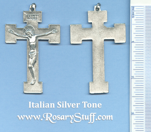 Basic Orthodox Crucifix 2 1/2 in.