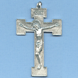 Basic Orthodox Crucifix 2 1/4 in.