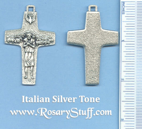 Pope Francis Offical Antonio Vedele Cross 2 in.