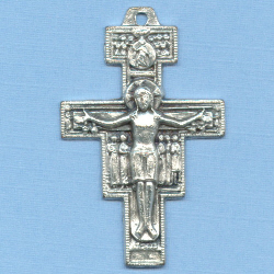 San Damiano Crucifix 1 5/8 in.