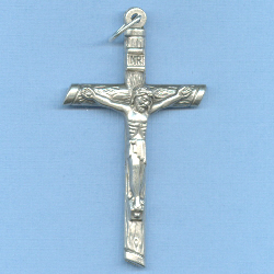 Log Crucifix 2 1/4 in.