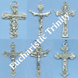 Custom Crucifix Choices: Holy Trinity & Eucharistic