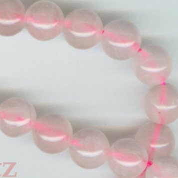 Custom Dyed Rose Quartz 6mm Stone Rosary