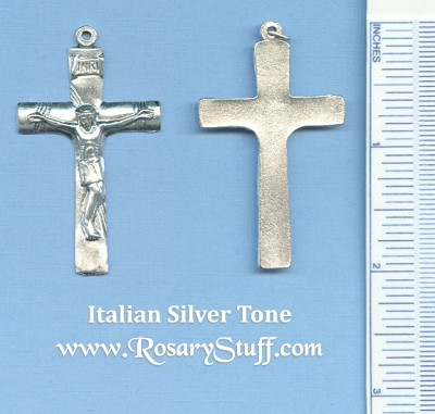Basic Crucifix with Rope Markings  2 in.