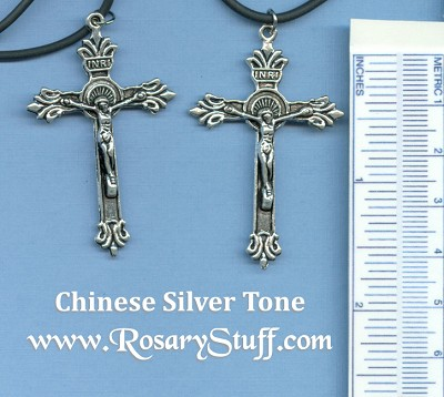 Ornate Double Sided Crucifix/Pendant 2