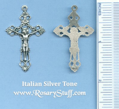 Filigree Small Open Crucifix 1 3/4 in.