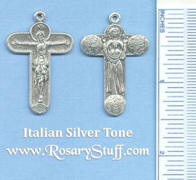 Immaculate Symbols Crucifix 1 7/16 in.