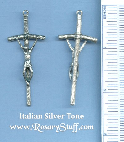 Papal Medium Crucifix 2 1/4 in.