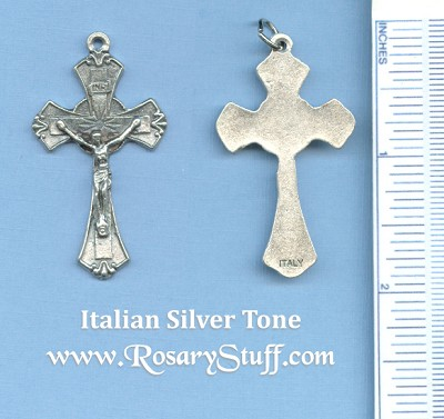 Traditional Crucifix 1 7/8 in.