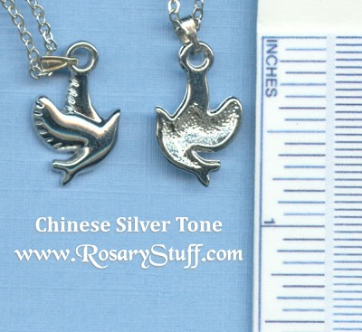 Dove Charm with Neck Chain